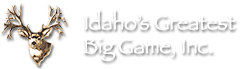 Idaho's Greatest Big Game